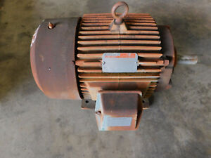 Reliance Electric Motor 15 Hp 460 Volts 254t Frame 1765 Rpm 3 Ph 1 15 Sf