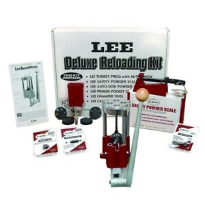 New Lee Precision Deluxe 4 Hole Turret Press Kit