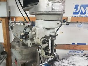 Bridgeport J Head Step Pully Milling Machine Head R 8