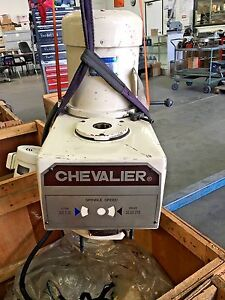 Chevalier Mill Head Only Has Upper Head And Motor 6