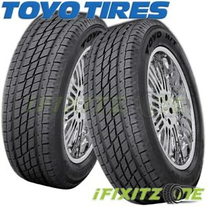 2 Toyo Open Country Ht P255 70r17 110s Bsw 640 Ab Highway All Season Tires