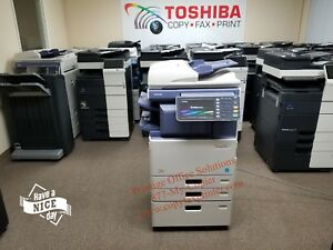 Toshiba E studio 3555c Copier Meter Under 49k