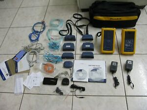 Fluke Networks Dsp 4300 Cable Analyzer W Smart Remote Fta440