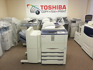 Toshiba E studio 655se Copier printer scanner Low Count