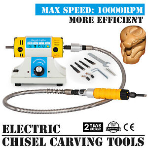 Electric Chisel Carving Tools Wood Chisel Carving Machine Kit Sculpture Carve Us