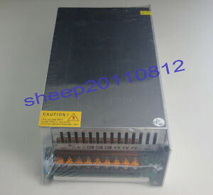 Ac100 120v To 0 150v Dc Output Adjustable 1000w Switching Power Supply