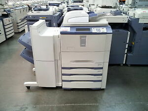 Toshiba E studio 555 Copier printer scanner Stapling Finisher Included
