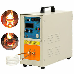 220v 15 Kw High Frequency Induction Heater Furnace Ht 15a 30 100 Khz