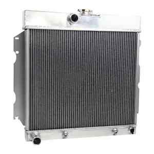 2 Row Aluminum Radiator For 63 67 Dodge Dart Coronet Charger Plymouth Valiant