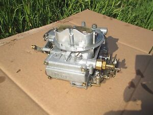 Holley 600 Cfm Carburetor Carb With Manual Choke 1850 5 Nice Looking