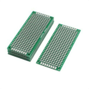 Universal Double Side Diy Prototype Paper Pcb Board 9x15cm 9 15cm 1 6mm 1 27mm