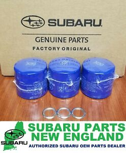 Genuine Oem Subaru Engine Oil Filter Drain Plug Gasket 15208aa12a 3 Pack