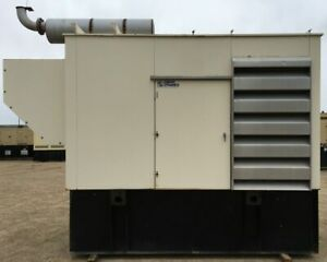 300 Kw Cummins Diesel Generator Genset Load Bank Tested Mfg 2001