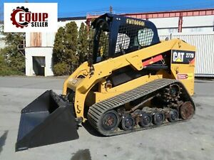 2015 Caterpillar 277d Track Skid Steer Loader Diesel Low Hours 2 Speed