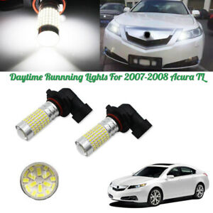 Extreme Bright 144 Smd 9005 Led For 2007 08 Acura Tl Daytime Running Lights Drl