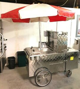 Old Tyme Hot Dog Cart
