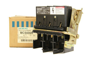 Siemens Mcs606r Disconnect Switch Accessory 60a 600v 3 Pole New In Box
