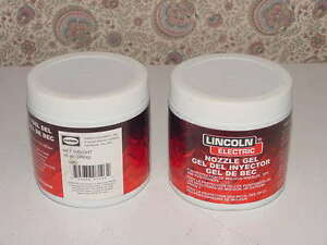 2 Lincoln Electric Welding Nozzle Gel Kh507 Protection Mig gun Tip Position 16oz