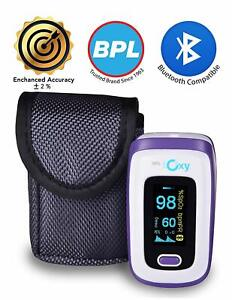 Bpl Medical Technologies Ioxy Finger Tip Pulse Oximeter With Bluetooth Fast Ship