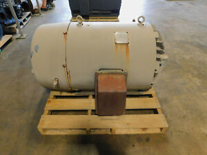 Louis Allis Electric Motor 300 Hp 2300 Volts 509us Frame 1790 Rpm 3 Ph 1 15