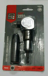 Sure Bilt 90 Degree Drill Adapter Handle Attachment Included Damaged Package