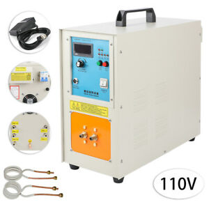 15kw 30 100 Khz High Frequency Induction Heater Furnace 110v Ht 15a