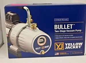 Yellow Jacket 93600 Bullet 7 Cfm Two Stage Vacuum Pump Free Shipping