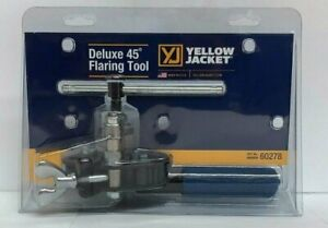 Yellow Jacket 60278 Deluxe Flaring Tool For 1 8 To 3 4 O d