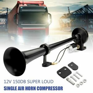 Horn Compressor 150db Super Loud Universal For All 12 24v Car Trucks Boats Auto