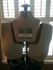 Sears Robuck Vintage Adjustable Mannequin 14 Section Dress Form Size A