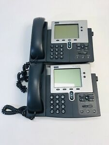 Cisco Systems Ip Phone 7940 Series Lot Of 2