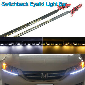 Even Illuminating Headlight Led Drl Turn Signal Lamp Switchback For Honda Accord