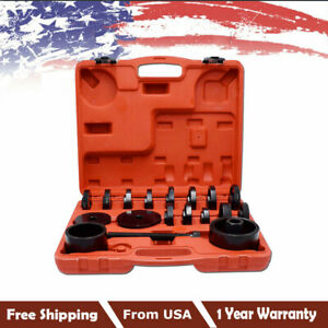 Hot 23 Pcs Fwd Front Wheel Bearing Press Tool Removal Adapter Puller Pulley Kit