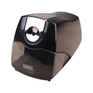 Staples Power Extreme Electric Pencil Sharpener Heavy duty Black 21834 356332