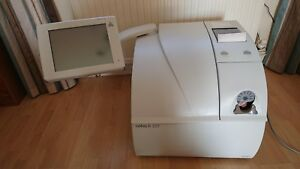 Roche Cobas B221 Blood Gas Analyzer Used In Working Order Touch Screen 17 Lang
