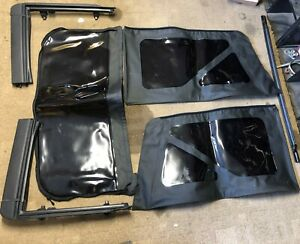 2012 Jeep Wrangler Soft Top Oem Mopar Factory W Tinted Windows