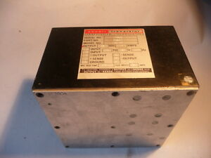 Abbott Transistor Military Power Supply W15ay10 682401 105 125v 400hz 10 Amp