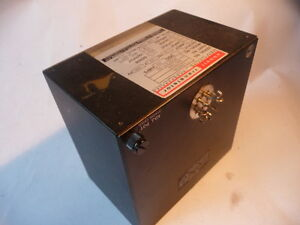 Abbott Transistor Military Power Supply W5dyy3 20 697504 110 130v 400hz 20 Amp