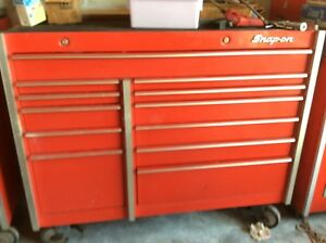 Snapon Snap On Snap on Kr1001 Red Bottom Cabinet Nice