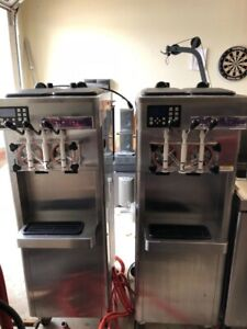 2011 Stoelting F231 Soft Serve Frozen Yogurt Twin Twist Ice Cream Machine