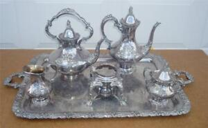 Reed And Barton King Francis 6 Piece Tea Set