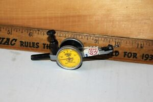 Vintage Fowler 52 560 100 Inch metric Dial Test Indicator Made In England