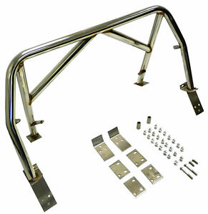 Obx Stainless Steel Double Diagonal Roll Bar For 99 05 Mazda Miata M2 Sport