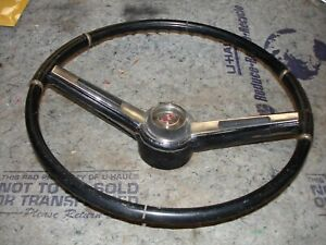 1964 1965 1966 442 Cutlass F85 Rare Olds Black Steering Wheel
