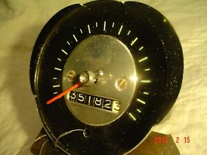 1965 Chevelle Speedometer Head 6407726w Nice Orig 35k Early Take Out