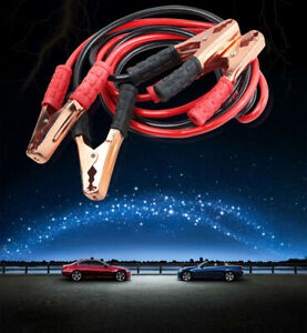 Auto 2m Heavy Duty Power 500a Booster Cable Emergency Battery Jumper Car Truck