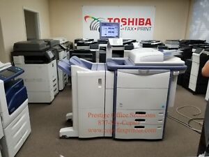 Toshiba E studio 6540c Digital Copier Meter Only 149k See Video Below