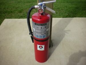 Abc 10lb Fire Extinguisher Dry Chemical Buckeye Model 10 Hi Sa80