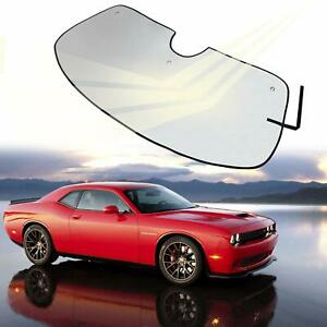Windshield Sun Shade Visor Sunshade Cover For Dodge Challenger Coupe 2008 2017