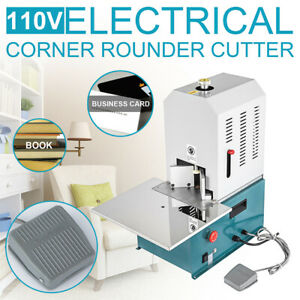 110v Electric Round Corner Cutter For Business Card Corner Rounding Machine